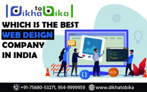 Which is the best web design company in India?