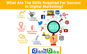 What are the skills required for success in digital marketing
